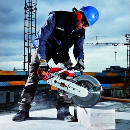 Sécurité dans l'utilisation des outils diamantés – Découpeuse thermique