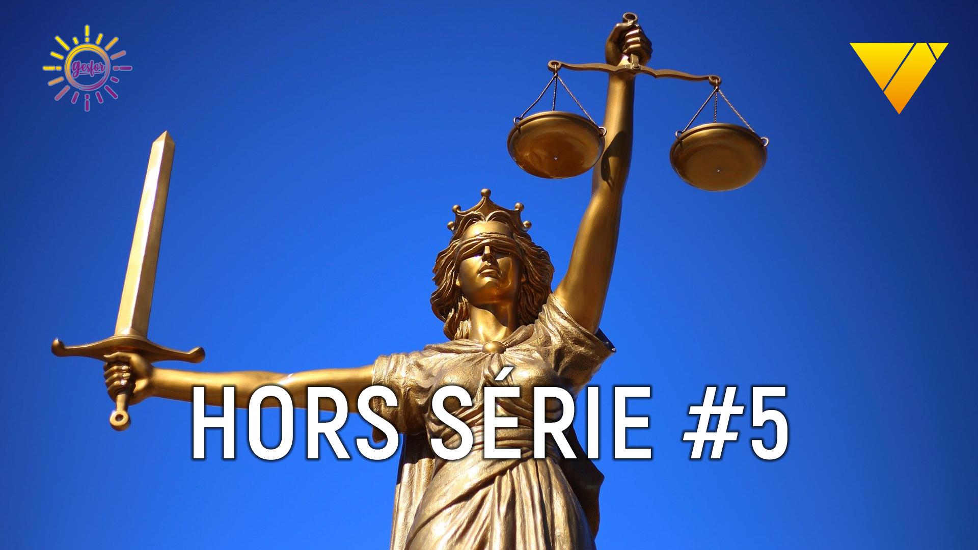 couverture du dossier hors serie numero 5 de 2020 sur les procès et verdicts d'accident mortel de travail hors espace confiné
