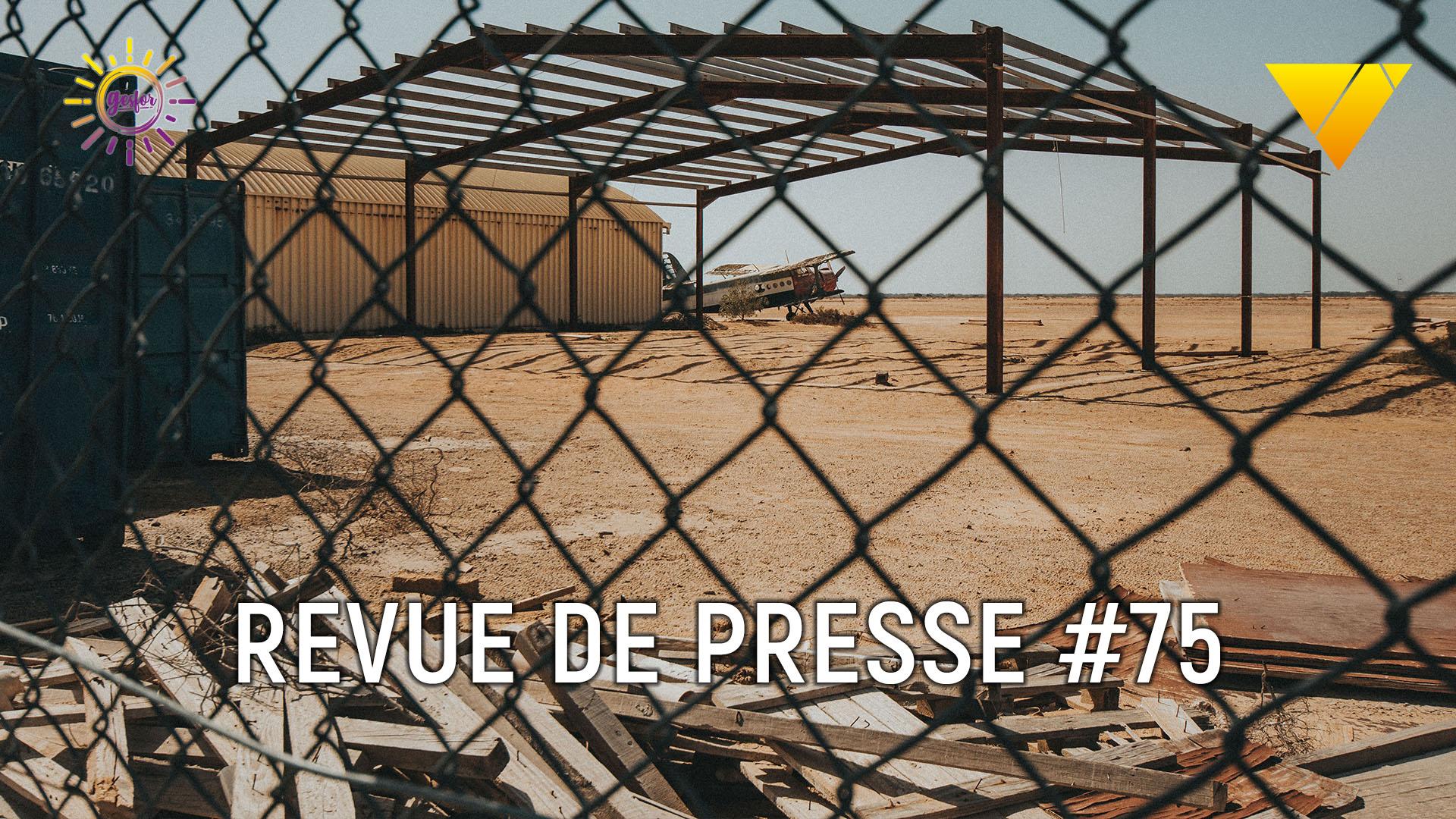 75eme revue de presse accidentologie du travail ,on parle de de 8 décès en environnement confiné en Algérie, accident catec et facture d'eau