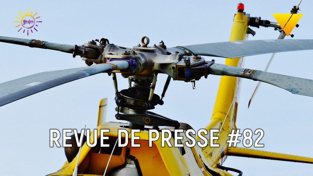 82ème revue de presse accidentologie du travail, on parle accident catec, collision de pompiers sur la route, fusion Veolia-Suez et origine du Covid